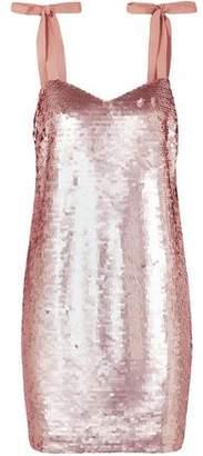 J.Crew Sequined Tulle Mini Dress