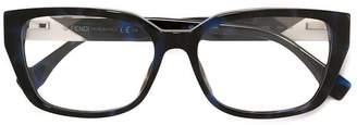 Fendi Eyewear colour-block square glasses