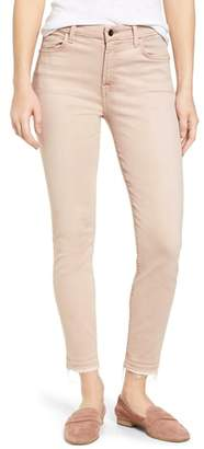 Jen7 Release Hem Colored Ankle Skinny Jeans