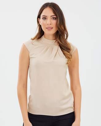 Karen Millen Silky Drape Top