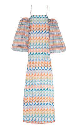 Leal Daccarett Fiesta Silk-Taffeta Dress Size: 2