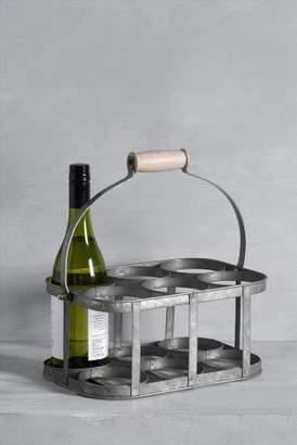 Next Galvanised Wine Caddy