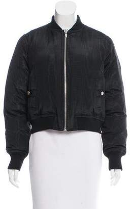 Veda Lightweight Puffy Bomber Jacket
