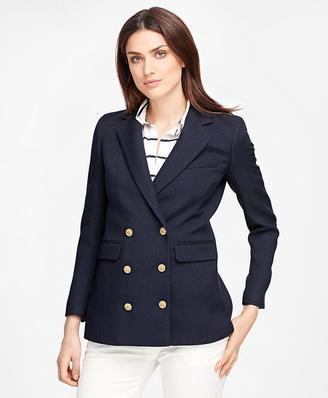 Wool Double-Breasted Blazer $548 thestylecure.com