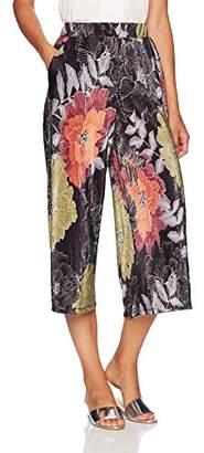 Paris Sunday Women's Pleated Culotte Pants