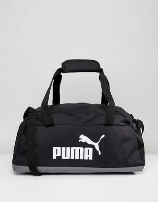Puma Phase Sport Bag In Black 07494201
