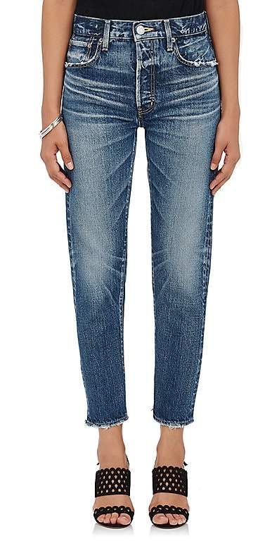 Moussy Women's Orla Distressed Jeans
