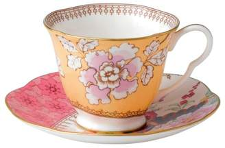 Wedgwood Butterfly Bloom Floral Bouquet Cup & Saucer