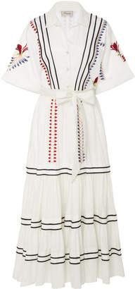 Temperley London Cherry Blossom Cotton Dress