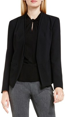 Vince Camuto Collarless Open Front Blazer $159 thestylecure.com