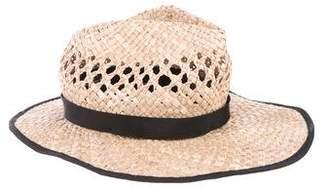 Gladys Tamez Bow Straw Hat