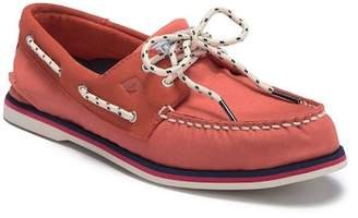 Sperry 2-Eyelet Nautical Boat Shoe