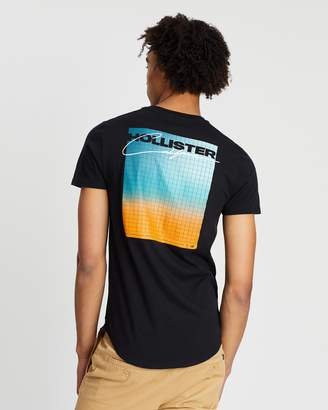 Hollister Print Logo Graphic Tee