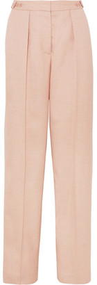 Stella McCartney Woven Wide-leg Pants - Blush