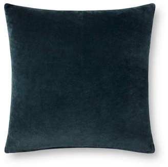 Lulu & Georgia Nadja Dual-Colored Pillow, Lagoon and Light Blue