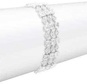 Saks Fifth Avenue Crystal Link Bracelet
