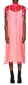 Prada Women's Sheer Organza Tieneck Dress - Pink