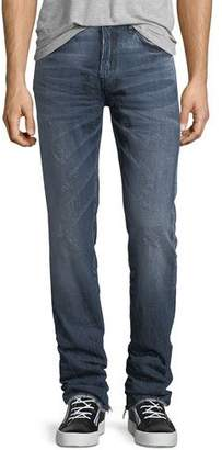 PRPS Distressed Denim Slim-Straight Jeans