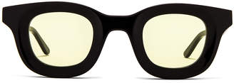 Rhude x Thierry Lasry Rhodeo Glasses in Yellow | FWRD