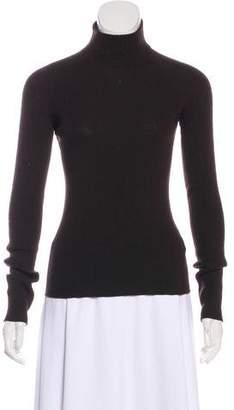 Dolce & Gabbana Virgin Wool Long Sleeve Top