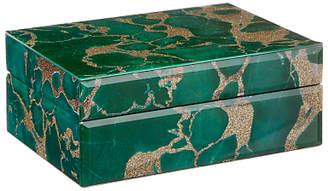 John Lewis & Partners Marble Trinket Box, Green