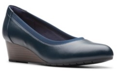 Clarks Collection Women's Mallory Berry Pumps Women's Shoes