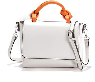 La Redoute Collections Two-Tone Satchel