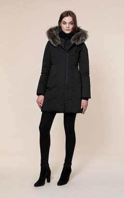 Soia & Kyo SALMA-FX slim-fit mid-length classic down coat