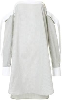 DAY Birger et Mikkelsen Monographie off-shoulder checked dress