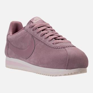 Nike Women's Classic Cortez Suede Casual Shoes