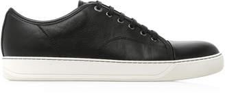 Lanvin Cap-Toe Leather Sneaker