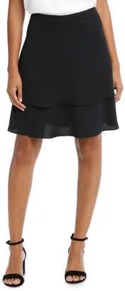 Basque Double Layer Full Skirt
