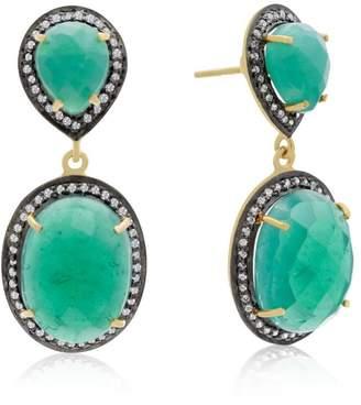 SIA 6th Borough Boutique Emerald Earrings