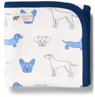 MONICA + Andy Blue Dogs Coming Home Blanket
