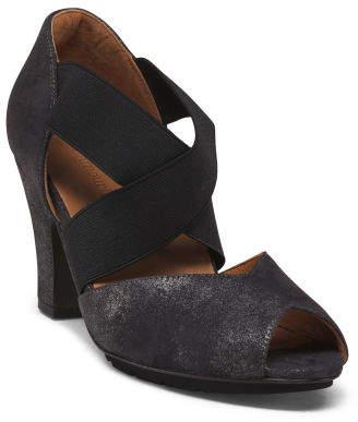 All Day Comfort Suede Dress Heels