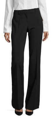 BOSS Tulea3 Classic Bootleg Trousers $275 thestylecure.com