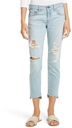 Women's Rag & Bone/jean The Dre Capri Slim Boyfriend Jeans $275 thestylecure.com