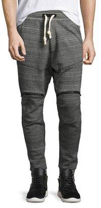 G-Star Lucas 5622 Space-Dye Sweatpants, Black $170 thestylecure.com