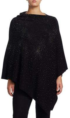 Joan Vass Plus Studded Poncho