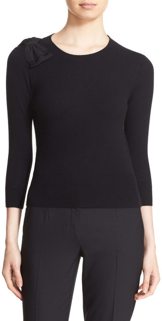 Ted Baker London &Callah& Bow Detail Crewneck Sweater