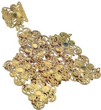 Lucy Ashton Jewellery Gold Filigree Hand Harness