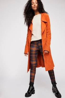 Free People Suede Trench