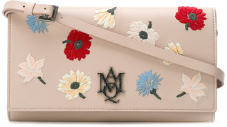 Alexander McQueen AMQ pouch with strap $1,095 thestylecure.com