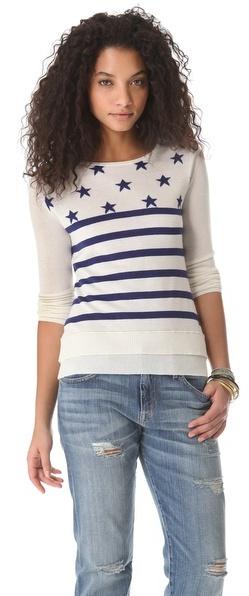 Banjo & matilda Stars and Stripes Pullover