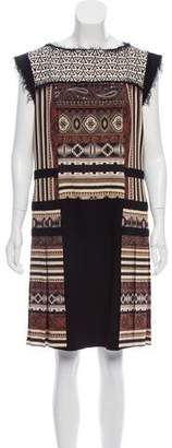 Etro Sleeveless Printed Dress w/ Tags