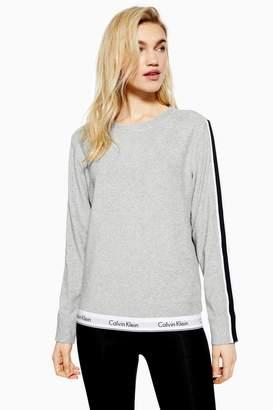 Topshop Grey Sweatshirt by Calvin Klein