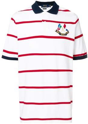 Polo Ralph Lauren crossed flags polo shirt