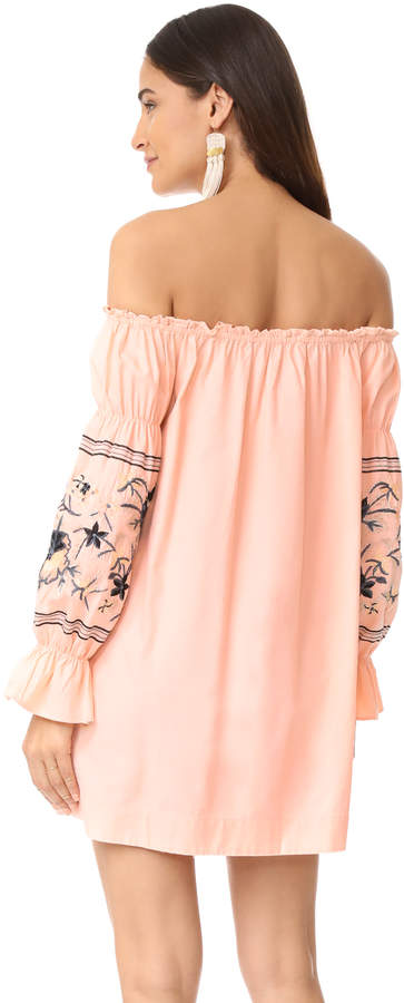 Free People Fleur Du Jour Mini Dress 8