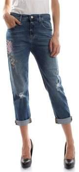 Kaos Collezioni 3/4 Jeans HIJDC001 JEANS Damen DENIM LIGHT BLUE