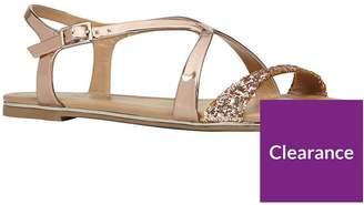 Call it SPRING Agrulia Criss Cross Sandal - Light Pink